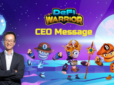 Message from DeFi Warrior's CEO